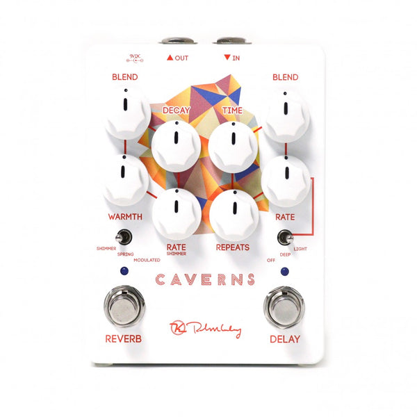 Keeley CAVERNS Tape Style Delay Reverb Effects Pedal