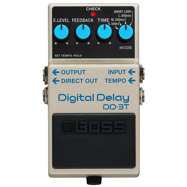 Boss DD3T Digital Delay Effects Pedal with Tap