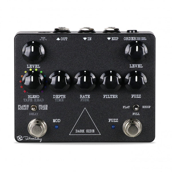 Keeley DARK SIDE Multi Effects with Fuzz Delay Rotary Phaser and Univibe Effects Pedal