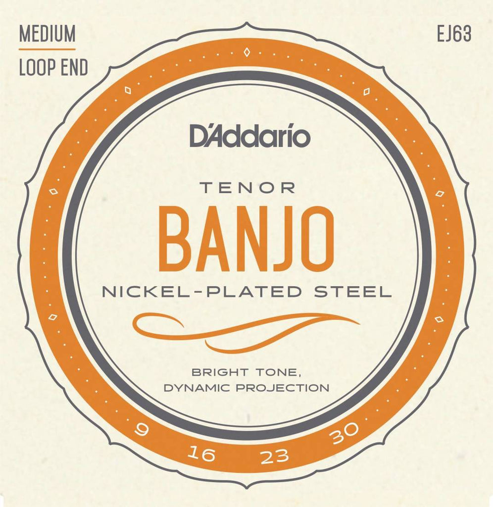 D'addario EJ63 Tenor Banjo Strings 9-30