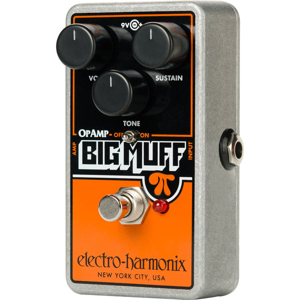 ElectroHarmonix OPAMPBIGMUFF OP Amp Big Muff Distortion Sustainer Effects Pedal