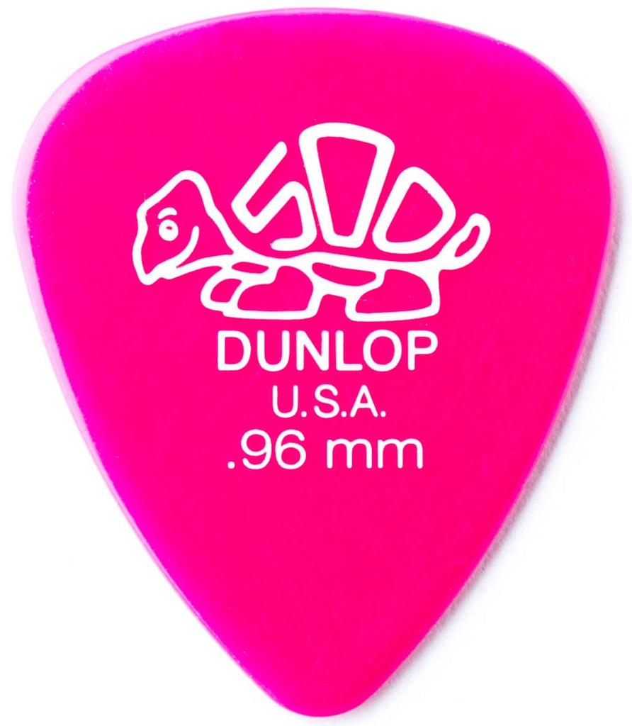 Dunlop 41P96 Delrin 500 Players Pick Pack .96mm - 12 pack