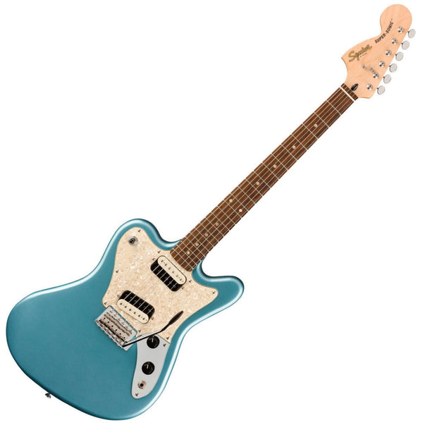Squier Paranormal Super Sonic Electric Guitar in Ice Blue Metallic - 0377015583