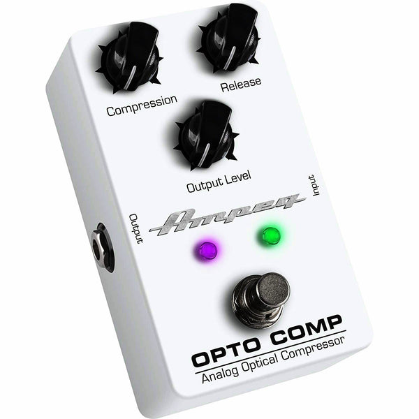 Ampeg OPTOCOMP Analog Optical Compressor Effects Pedal