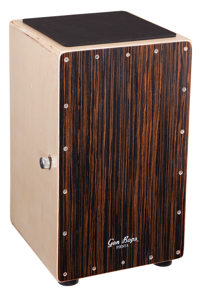 Gon Bops FSCJW Fiesta Cajon in Walnut with Bag