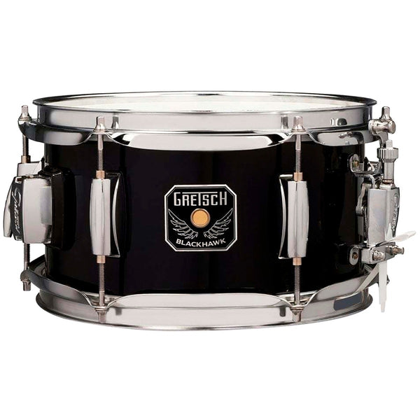 "Gretsch BH5510BK 10"" x 5.5"" Blackhawk Mighty Mini Snare Drum with Mount"