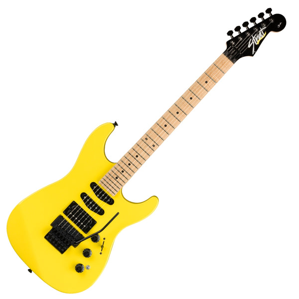 Fender Limited MIJ HM Stratocaster Electric Guitar Maple Fingerboard in Frozen Yellow w/Bag - 0251702374