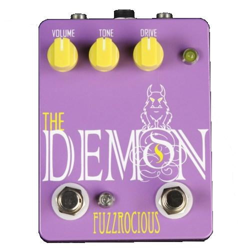 Fuzzrocious Low to Medium-High Gain Overdrive  Effects Pedal - DEMON