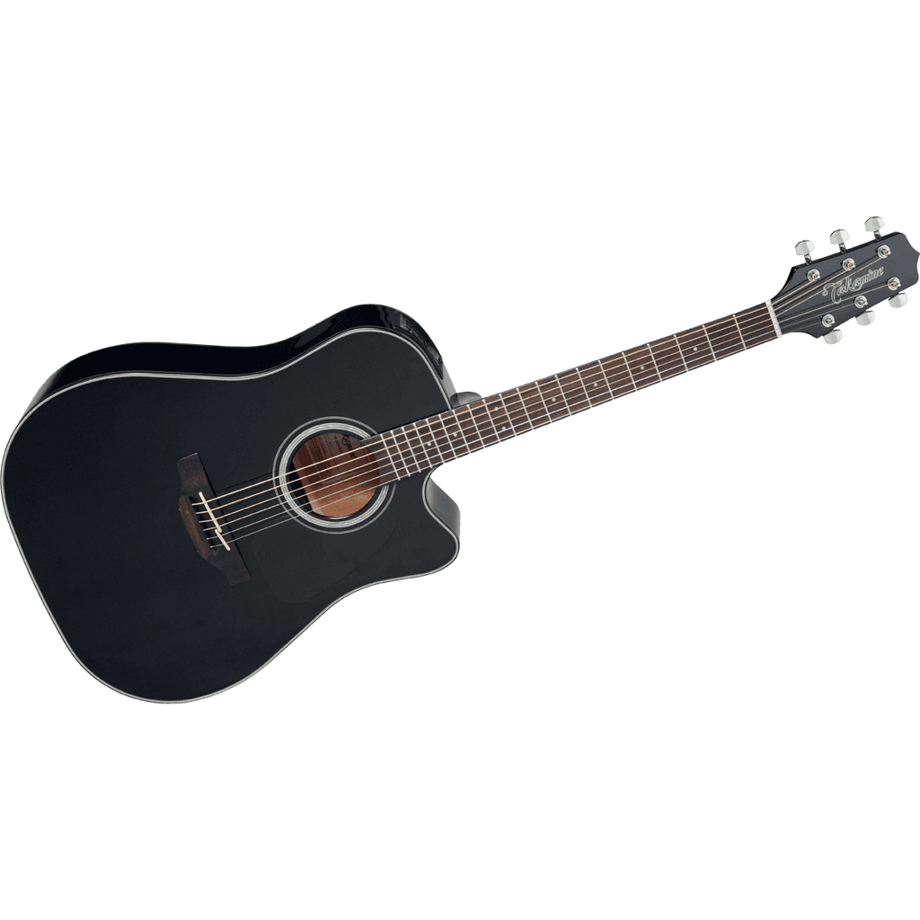 Takamine G 30 Series Dreadnought Cutaway Acoustic Electric in Black - GD30CEBLK