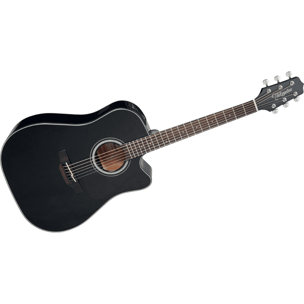 Takamine GD30CEBLK G 30 Series Dreadnought Cutaway Acoustic Electric in Black