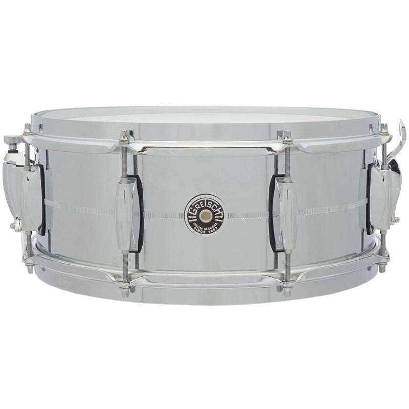Gretsch GB4165S Brooklyn Chrome over Steel Snare Drum