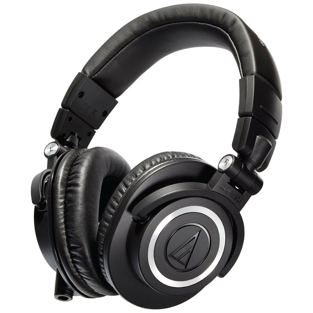 Audio-Technica ATHM50X Dynamic Closed Back Monitor Headphones