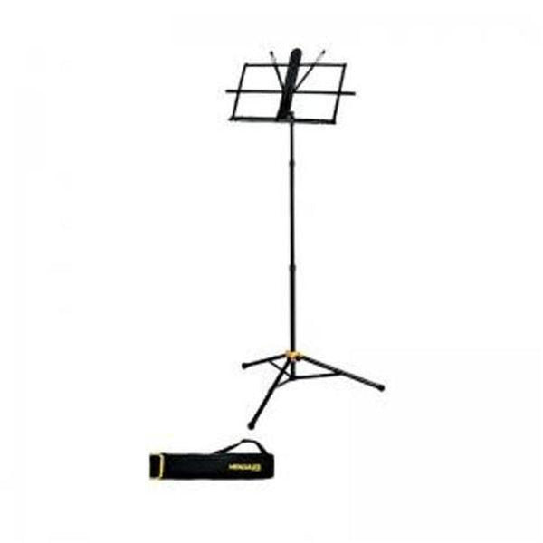 Hercules BS118BB 3 Section Sheet Music Stand with Carrying Bag