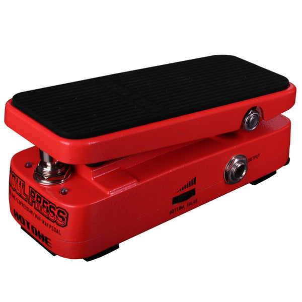 Hotone SP10PEDAL Soul Press Wah Volume Expression Effects Pedal