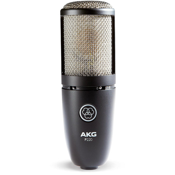 AKG Project Studio Multi-Pattern Large Diaphragm Condenser Microphone - P220MIC