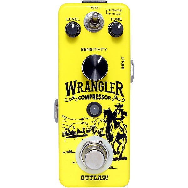 Outlaw Effects WRANGLER Wrangler 2 Mode Compressor Effects Pedal