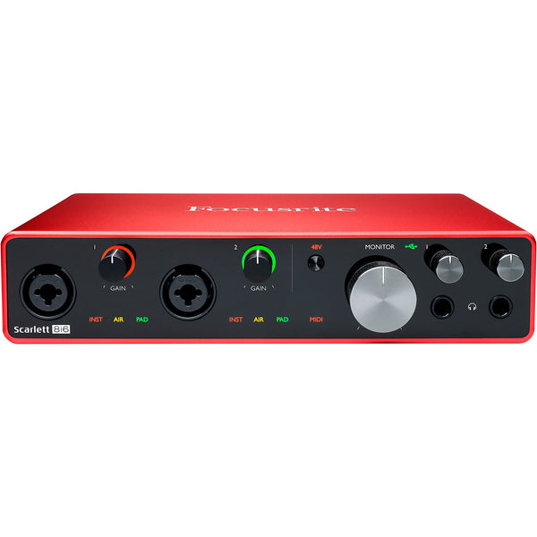 Focusrite SCARLETT8I6MK3 Scarlett 8i6 USB Audio Interface 3rd Gen