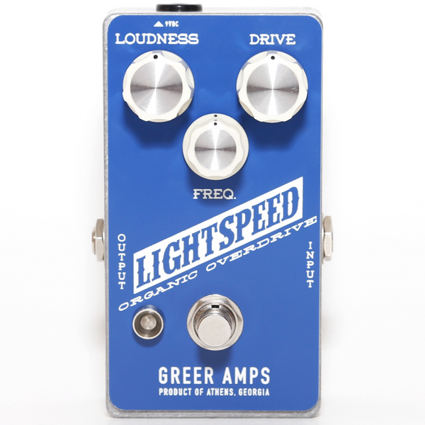 Greer Amps Lightspeed Overdrive Effects Pedal - GREERLOO