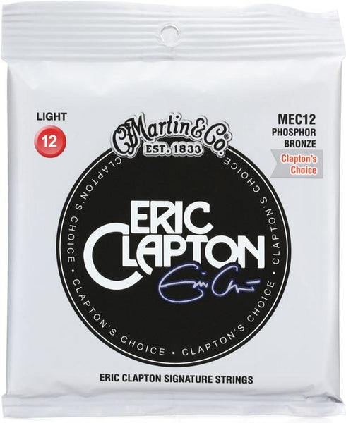 Martin MEC12 Clapton's Choice Acoustic Strings - Guitar Light 12-54