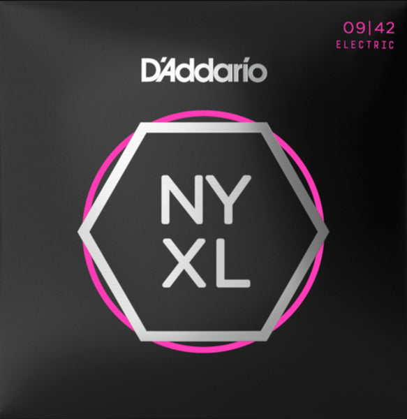 D'addario NYXL0942 NYXL Electric Strings - Guitar Super Light 009-042