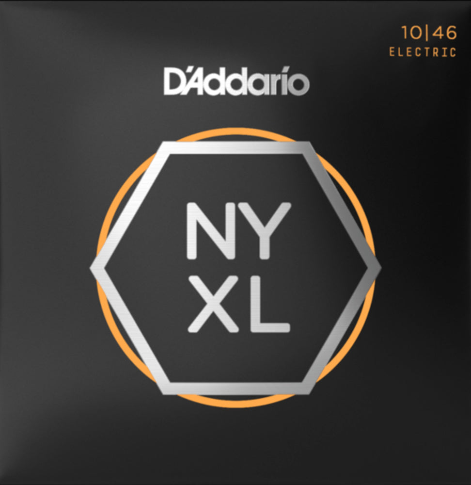 D'addario NYXL1046 NYXL Electric Strings - Guitar Regular Light 010-046