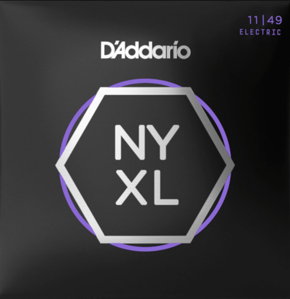 D'addario NYXL1149 NYXL Electric Strings - Guitar 011-049