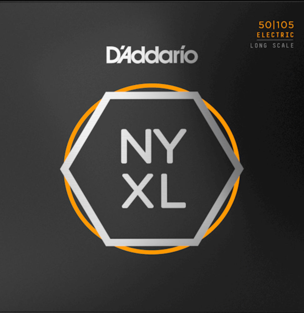 D'addario NYXL50105 NYXL Long Scale Bass Strings Medium 050-105