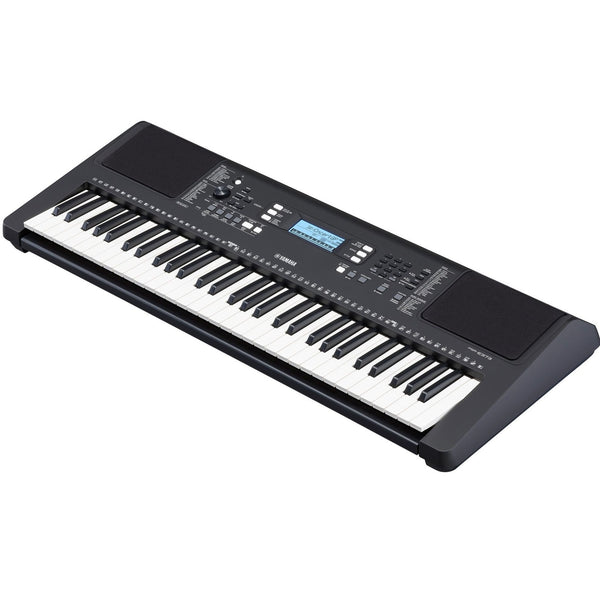 Yamaha 61 Note Portable Keyboard Touch Sensitive with Power Supply - PSRE373