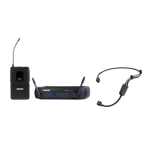 Shure PGXD14PGA31X8 PGX Digital Headset Condenser Wireless Microphone System