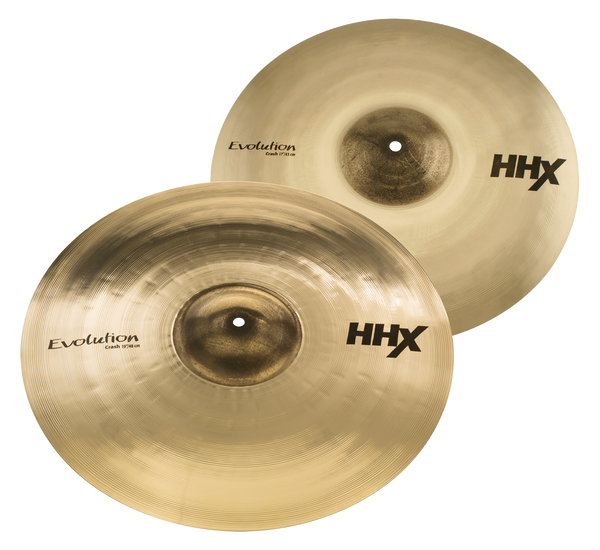 Sabian HHX Evolution Crash Pack - 15004XEB