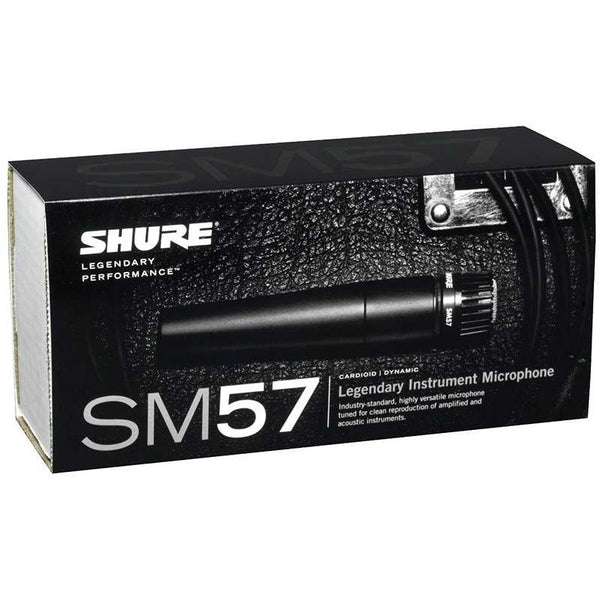 Shure SM57LC Cardioid Dynamic Instrument Vocal Microphone