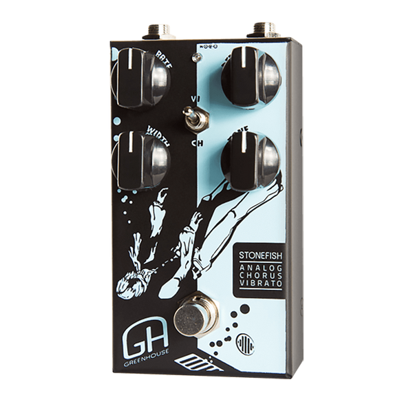 GreenHouse STONEFISH Stonefish Chorus Vibrato Effects Pedal