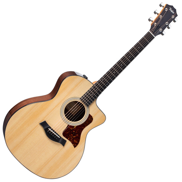 Taylor 214CEPLUS GA Plus Cutaway Acoustic Electric Layered Rosewood w/Case