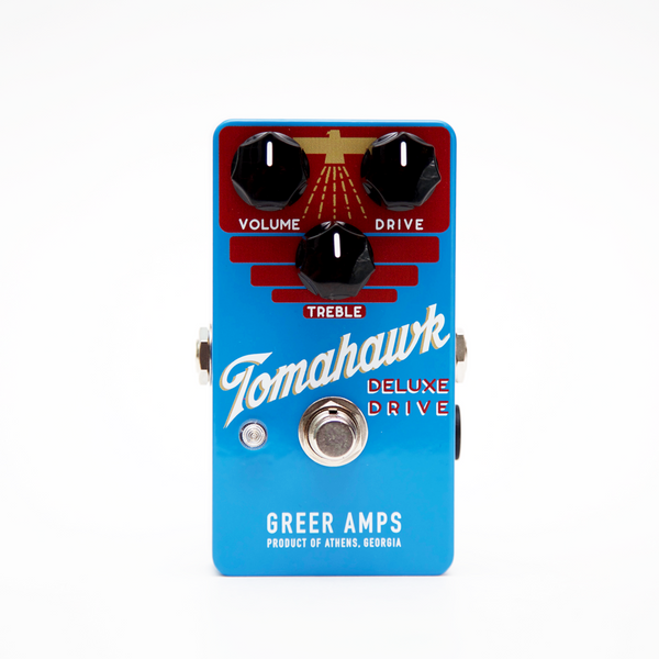 Greer Amps  Tomahawk Deluxe Drive Effects Pedal  - TOMAHAWK