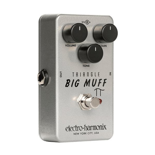 ElectroHarmonix TRIANGLEBIGMUFF Triangle Big Muff Distortion Sustainer Effects Pedal