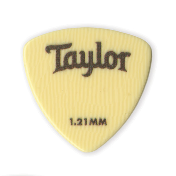 Taylor 70719 Premium Darktone Ivoroid 346 Picks 1.21mm 6-Pack
