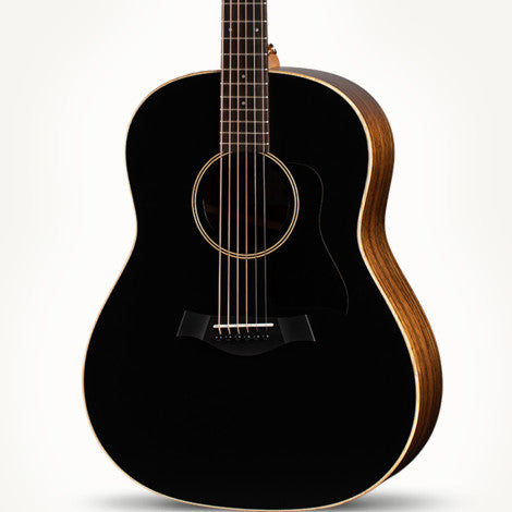 The Arts Music Store presents the Taylor AD17BT GP American Dream Series Acoustic  Guitar Spruce Ovangkol Black Top with Aero-Case