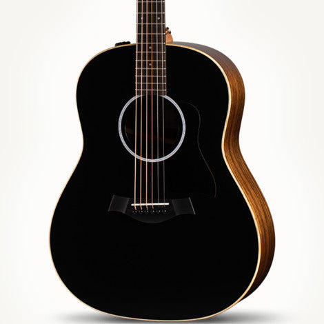 The Arts Music Store presents the Taylor AD17EBT GP American Dream Series Acoustic Electric Spruce Ovangkol Black Top with Aero-Case