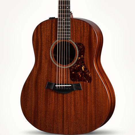 The Arts Music Store presents the Taylor AD27E GP American Dream Series Acoustic Electric Mahogany Sapele with Aero-Case