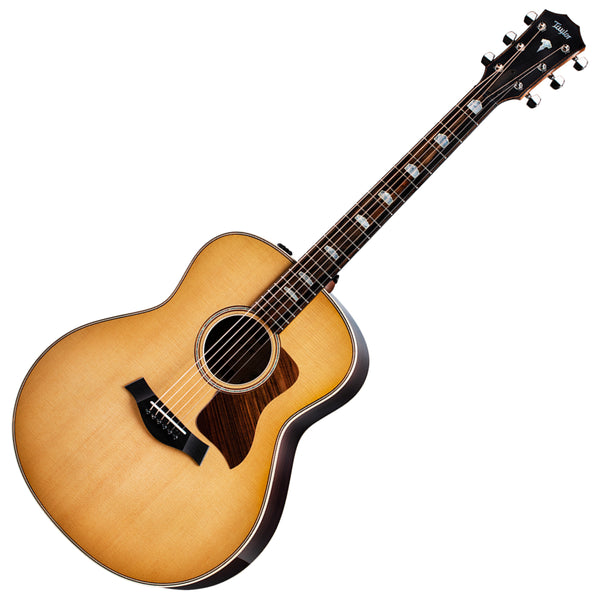 Taylor 818E GO V-Class Acoustic Electric Sitka Spruce Top Indian Rosewood Back with Case