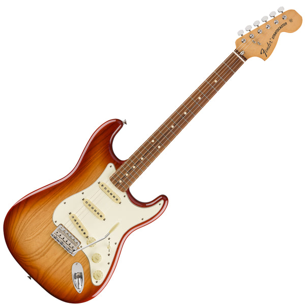 Fender Vintera '70s Stratocaster Electric Guitar in Sienna Sunburst - 149843347