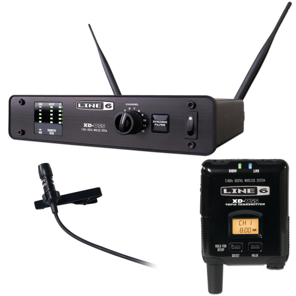 Line 6 L6XDV55L Digital Wireless Lavalier Microphone System