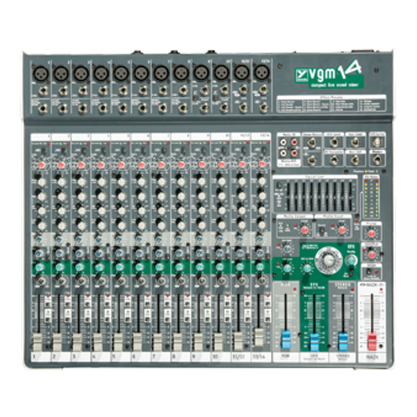 Yorkville VGM14 14 Channel Compact Non Powered Mixer