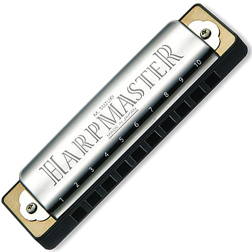 Suzuki MR200D HarpMaster Harmonica Key of D