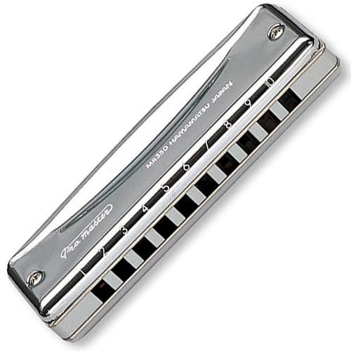 Suzuki MR350BB ProMaster Harmonica Key of Bb