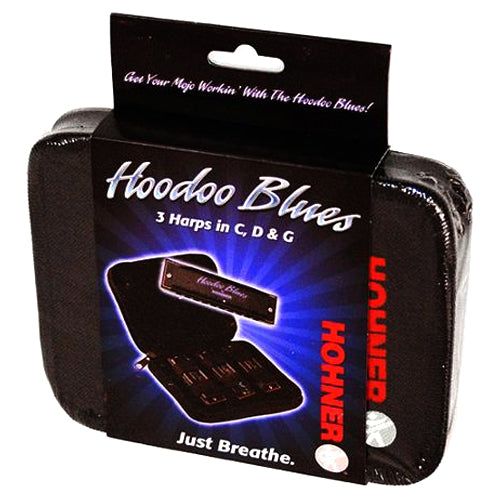 Hohner HBP Hoodoo Blues 3 Pack