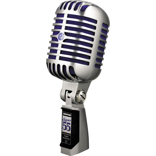 Shure SUPER55 Super 55 Deluxe Supercardioid Vocal Microphone