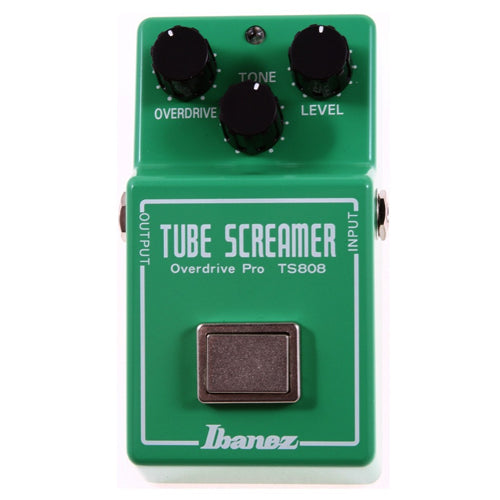 Ibanez TS808 Vintage Tube Screamer Reissue Overdrive Effects Pedal