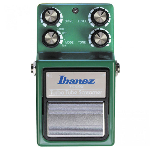 Ibanez TS9DX Turbo Tube Screamer Overdrive Effects Pedal