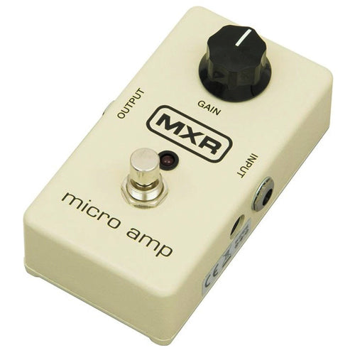 MXR M133 Micro Amp Gain Boost Effects Pedal